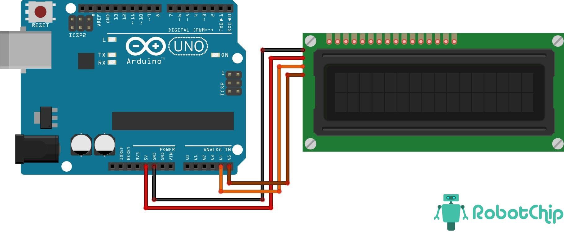 Обзор интерфейсного модуля IIC, I2C, TWI для LCD