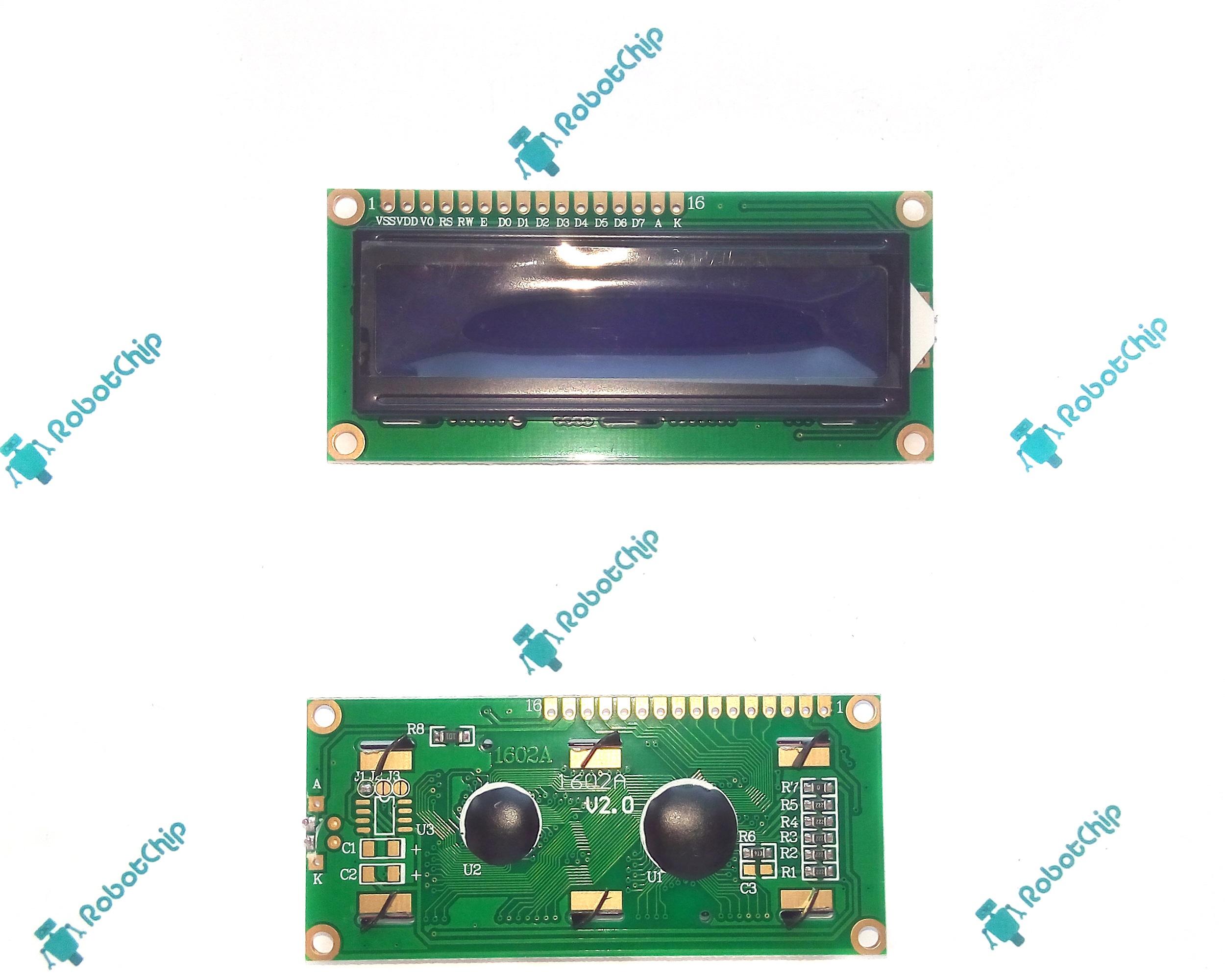 Обзор LCD-дисплея 1602A (LCD1602A)