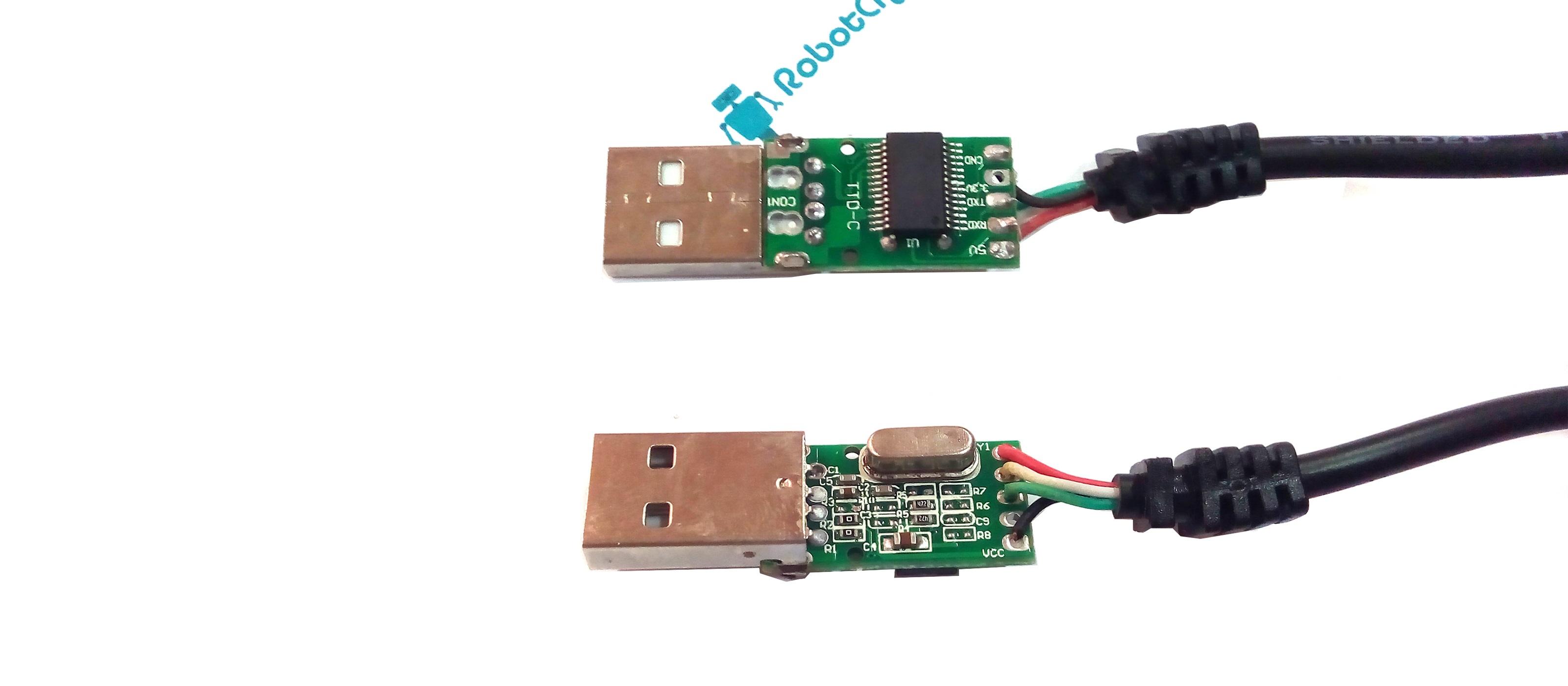Обзор преобразователя PL2303TA с кабелем