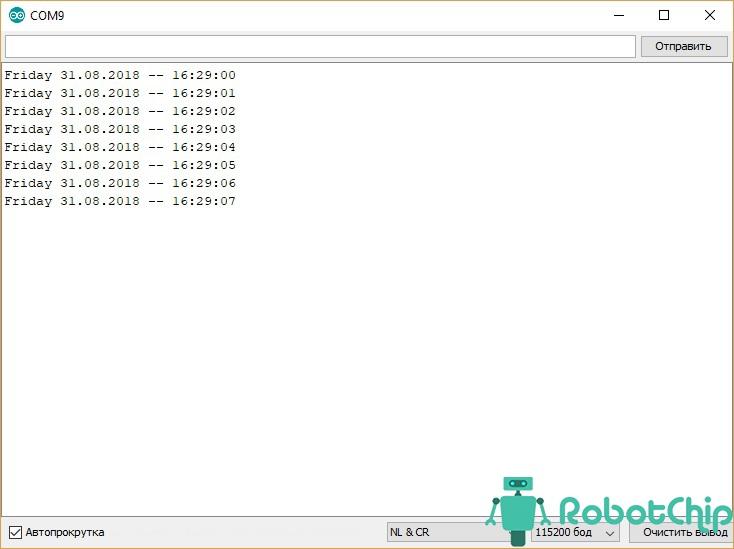Обзор часов реального времени DS3231 (RTC)