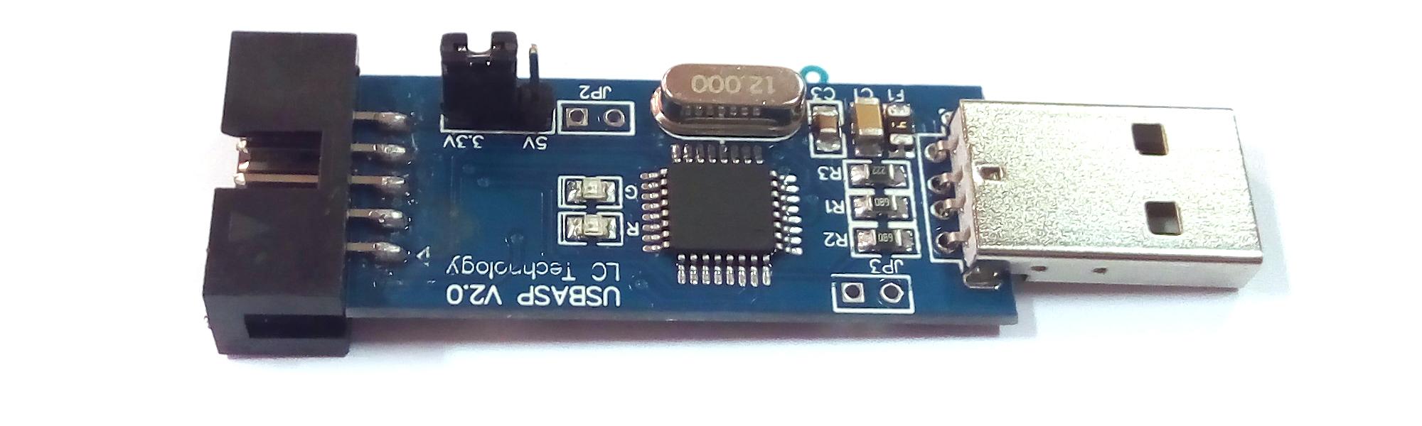 Обзор программатора USBAsp v.2.0