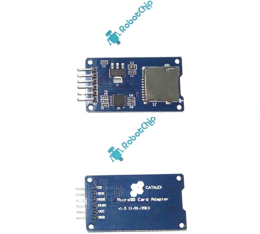 Обзор модуля micro SD карт, SPI