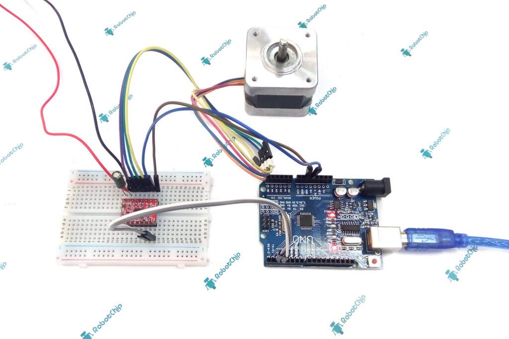 Подключение драйвера A4988 к Arduino