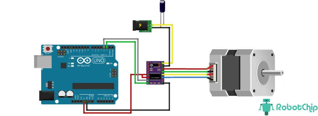 Подключение DRV8825 к Arduino