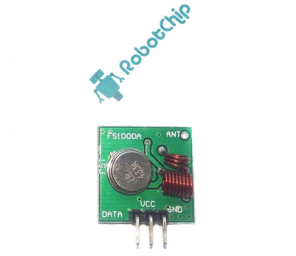 Обзор радиомодуля на FS1000A (RF-5V)