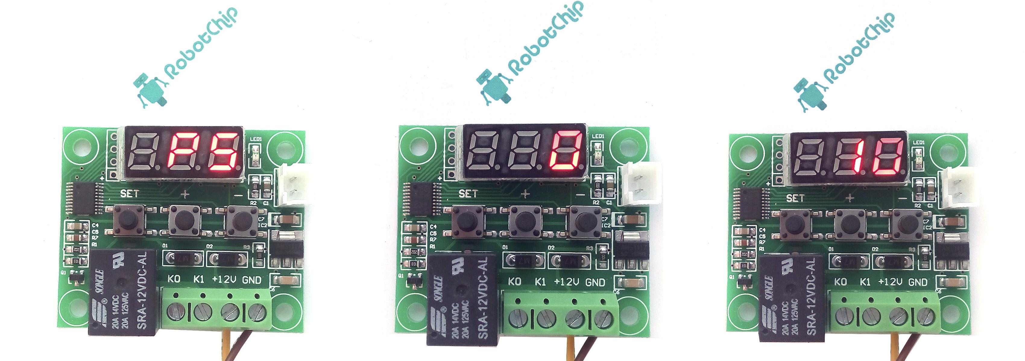 Терморегулятор XH-W1209 - настройка меню P5