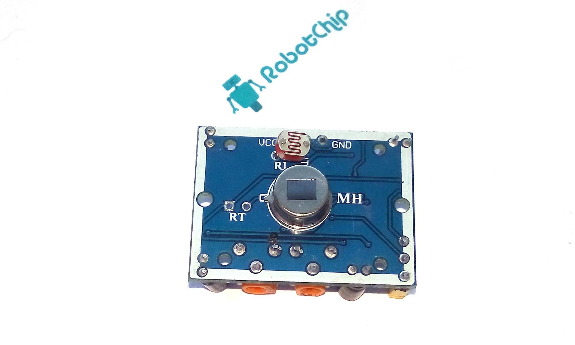 Подключение фоторезистора к HC-SR501