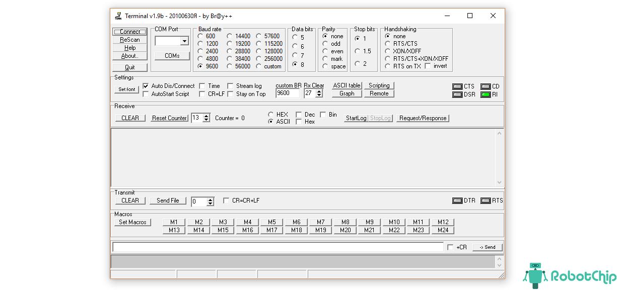 Программа Terminal 1.9b