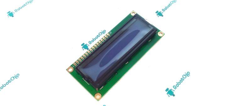 Обзор подключения LCD-дисплея 1602A (LCD1602A)