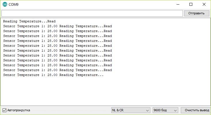 Обзор датчика температуры DS18B20
