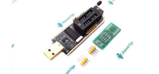 Обзор программатора для FLASH и EEPROM на CH341A