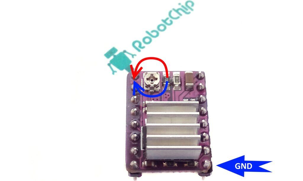 Настройка тока DRV8825