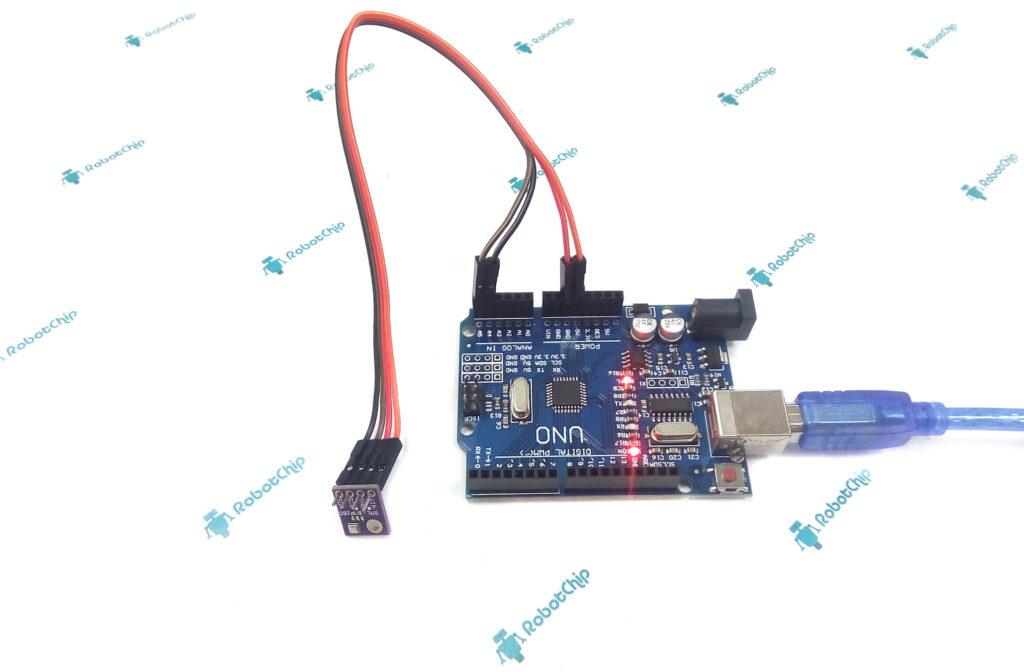 BME280 - датчик атмосферного давления, влажности и температуры