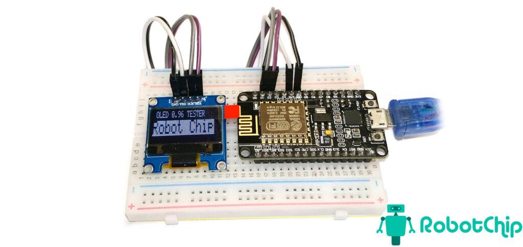 Подключение OLED дисплея к ESP8266