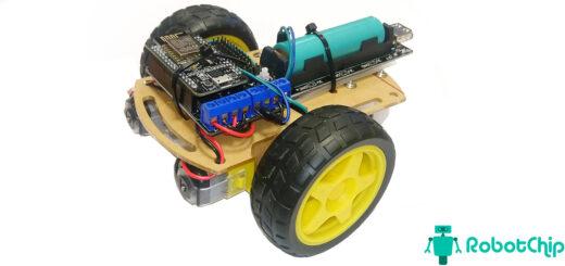 Автомобильное шасси 2WD и NodeMCU