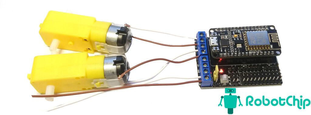 Обзор Motor Shield для NodeMCU