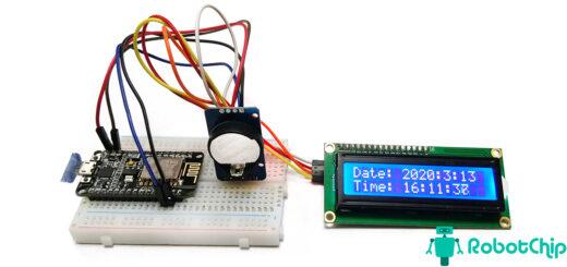 Подключение DS3231 к NodeMCU (ESP8266)