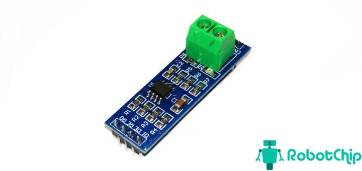 Подключение конвертера TTL-RS485 к Arduino
