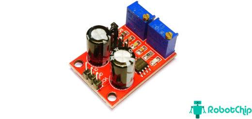Обзор модуля генератора импульсов на NE555