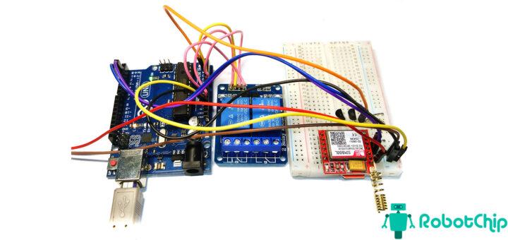 Отправка температуры через SMS (GSM) и Arduino.