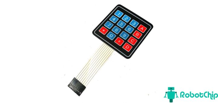 Подключение матричной мембранной клавиатуры к Arduino