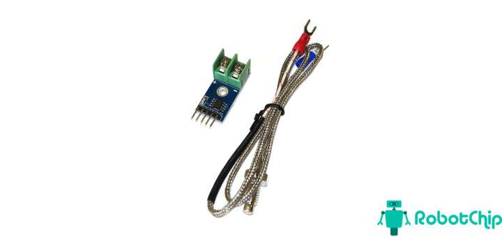 модуля преобразователя термопары на MAX6675