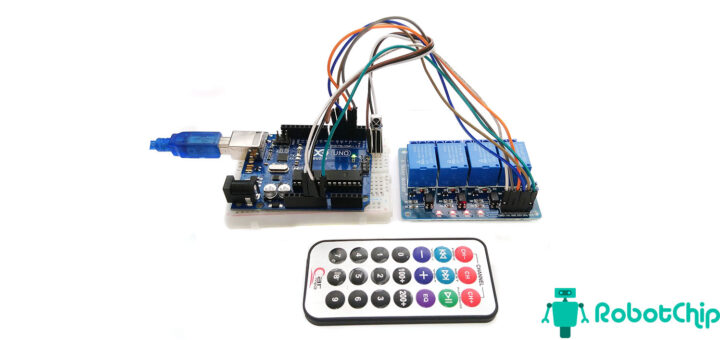Управление нагрузкой с помощью ИК пульта и Arduino