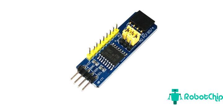 Увеличение портов ввода-вывода на Arduino (PCF8574)