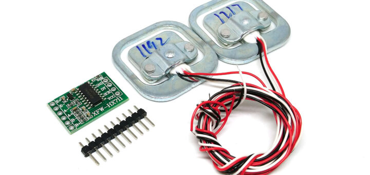Весы на Arduino, HX711 и тензодатчика